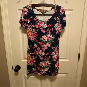 NWOT Forever 21 Bodycon Floral Mini Dress